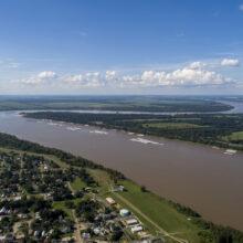 Mississippi River at Donaldsonville