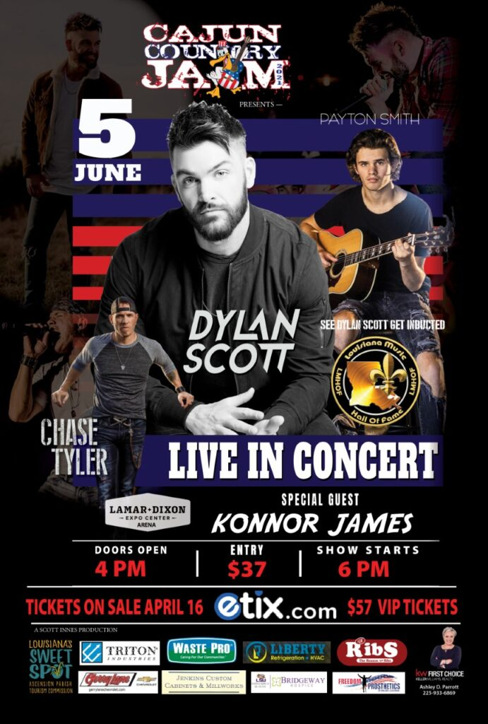 Cajun Country Jam Presents Dylan Scott