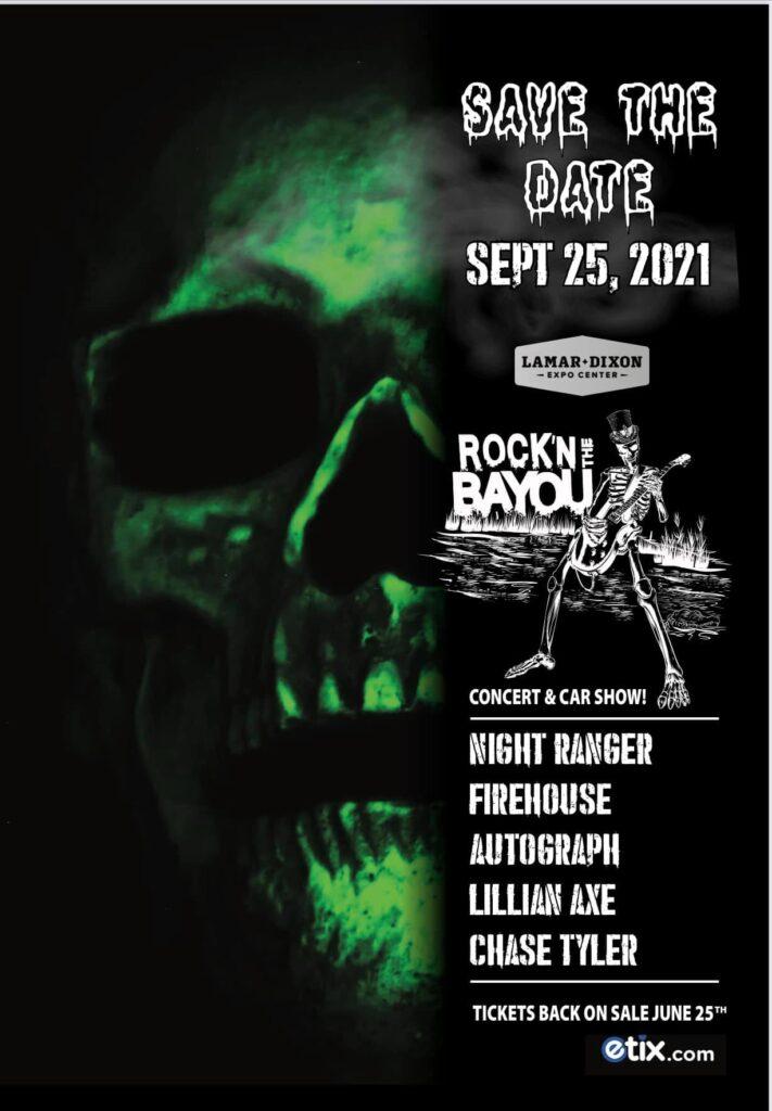 Rock'n The Bayou Concert