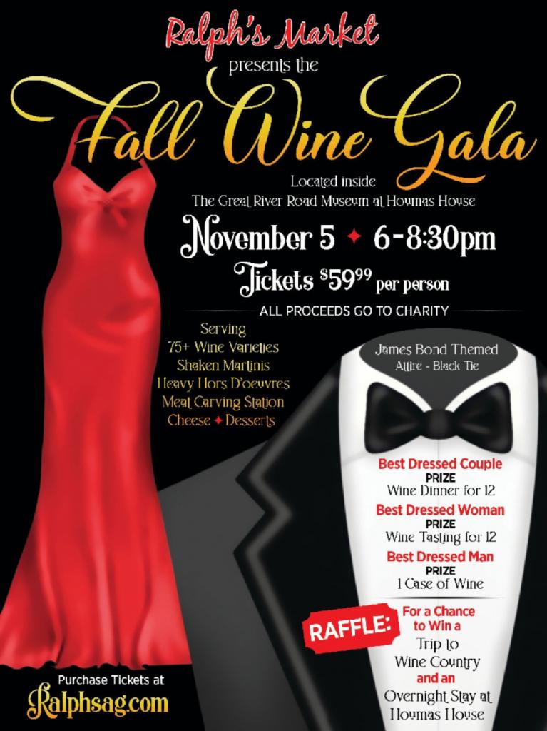 Ralph's Market Fall Wine Gala